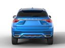 Фото авто Haval F7 1 поколение, ракурс: 0 - рендер цвет: синий