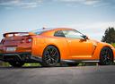 Фото авто Nissan GT-R R35 [3-й рестайлинг], ракурс: 225 цвет: оранжевый
