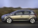Фото авто Opel Corsa D [рестайлинг], ракурс: 90 цвет: серый