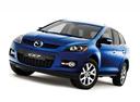 Фото авто Mazda CX-7 1 поколение, ракурс: 45 цвет: синий