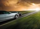 Фото авто Alpina D3 F30/F31, ракурс: боковая часть цвет: серебряный