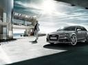 Фото авто Audi RS 6 C7 [рестайлинг], ракурс: 45 цвет: серебряный