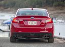 Фото авто Subaru Impreza 4 поколение, ракурс: 180 цвет: красный