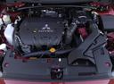 Фото авто Mitsubishi Lancer X, ракурс: двигатель цвет: красный