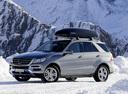 Фото авто Mercedes-Benz M-Класс W166, ракурс: 45 цвет: серый