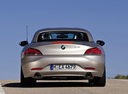 Фото авто BMW Z4 E89, ракурс: 180 цвет: бежевый