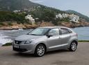 Фото авто Suzuki Baleno 2 поколение, ракурс: 45 цвет: серебряный