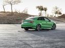 Фото авто Audi RS 3 8VA [рестайлинг], ракурс: 225 цвет: зеленый