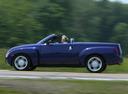 Фото авто Chevrolet SSR 1 поколение, ракурс: 90 цвет: фиолетовый