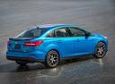 Фото авто Ford Focus 3 поколение [рестайлинг], ракурс: 270 цвет: синий