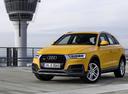 Фото авто Audi Q3 8U [рестайлинг], ракурс: 45 цвет: желтый