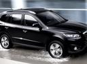 Фото авто Hyundai Santa Fe CM [рестайлинг], ракурс: 270 цвет: черный