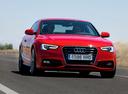 Фото авто Audi A5 8T [рестайлинг], ракурс: 315 цвет: красный
