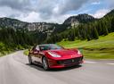 Фото авто Ferrari GTC4Lusso 1 поколение, ракурс: 315 цвет: вишневый