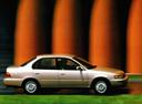 Фото авто Toyota Corolla E100, ракурс: 270 цвет: бежевый
