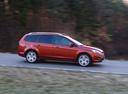 Фото авто Ford Focus 2 поколение [рестайлинг], ракурс: 270 цвет: красный