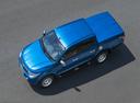 Фото авто Mitsubishi L200 5 поколение, ракурс: сверху цвет: синий