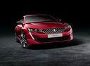 Фото авто Peugeot 508 2 поколение, ракурс: 315 цвет: красный