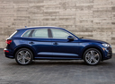 Фото авто Audi Q5 2 поколение, ракурс: 270 цвет: синий