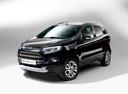 Фото авто Ford EcoSport 2 поколение, ракурс: 45 - рендер цвет: черный