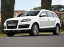 Фото авто Audi Q7 4L [рестайлинг], ракурс: 45 цвет: серебряный