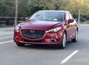 Фото авто Mazda 3 BM [рестайлинг], ракурс: 45 цвет: красный