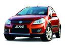 Фото авто Suzuki SX4 1 поколение,  цвет: бордовый