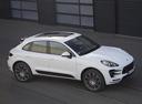 Фото авто Porsche Macan 1 поколение, ракурс: 315 цвет: белый
