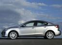 Фото авто Mazda 3 BL [рестайлинг], ракурс: 90 цвет: серебряный