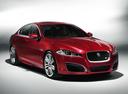 Фото авто Jaguar XF X250 [рестайлинг], ракурс: 315 цвет: красный