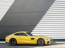 Фото авто Mercedes-Benz AMG GT C190 [рестайлинг], ракурс: 270 цвет: желтый