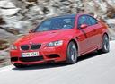 Фото авто BMW M3 E90/E92/E93, ракурс: 45 цвет: красный
