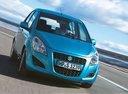 Фото авто Suzuki Splash 1 поколение [рестайлинг],  цвет: голубой