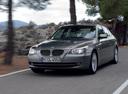 Фото авто BMW 5 серия E60/E61 [рестайлинг], ракурс: 45 цвет: серый
