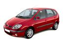 Фото авто Renault Scenic 1 поколение [рестайлинг], ракурс: 45 цвет: красный