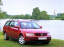 Фото авто Volkswagen Passat B5, ракурс: 315 цвет: красный