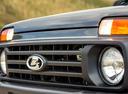 Фото авто ВАЗ (Lada) 4x4 1 поколение [2-й рестайлинг], ракурс: шильдик цвет: серый