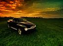 Фото авто Chevrolet SSR 1 поколение, ракурс: 315 цвет: черный