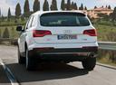 Фото авто Audi Q7 4L [рестайлинг], ракурс: 180 цвет: серебряный
