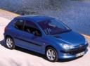 Фото авто Peugeot 206 1 поколение, ракурс: 315