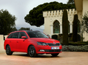 Фото авто Skoda Fabia NJ, ракурс: 315 цвет: красный