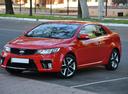 Фото авто Kia Cerato 2 поколение, ракурс: 45 цвет: красный