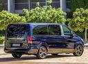 Фото авто Mercedes-Benz V-Класс W447, ракурс: 225 цвет: синий