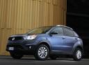Фото авто SsangYong Korando 3 поколение [рестайлинг], ракурс: 45 цвет: синий