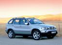 Фото авто BMW X5 E53, ракурс: 315 цвет: серебряный