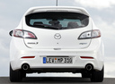 Фото авто Mazda 3 BL, ракурс: 180 цвет: белый