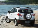 Фото авто Ford EcoSport 2 поколение, ракурс: 135 цвет: серебряный