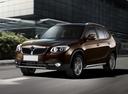 Фото авто Brilliance V5 1 поколение, ракурс: 45 цвет: коричневый
