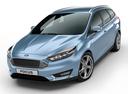 Фото авто Ford Focus 3 поколение [рестайлинг], ракурс: 45 - рендер цвет: голубой