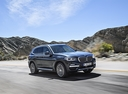 Фото авто BMW X3 G01, ракурс: 315 цвет: серый